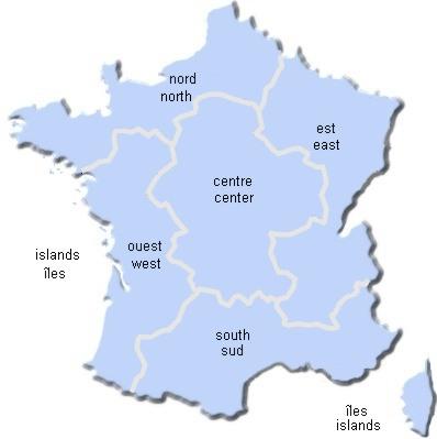 Gebiete In Frankreich